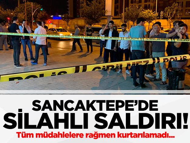 Sancaktepe'de market sahibi silahlı saldırıda hayatını kaybetti