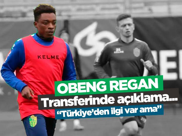 Trabzonspor'un istediği Obeng Regan için son dakika açıklaması