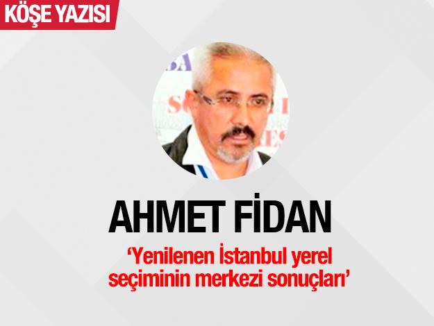 Yenilenen İstanbul yerel seçiminin merkezi sonuçları