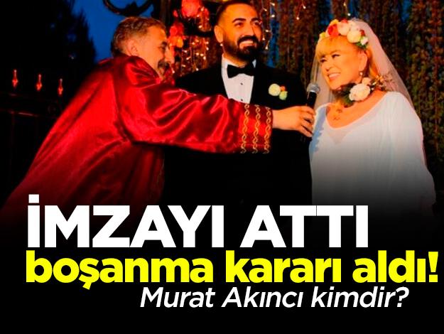 Zerrin Özer'in evlendikten sonra boşanmak istediği Murat Akıncı kimdir