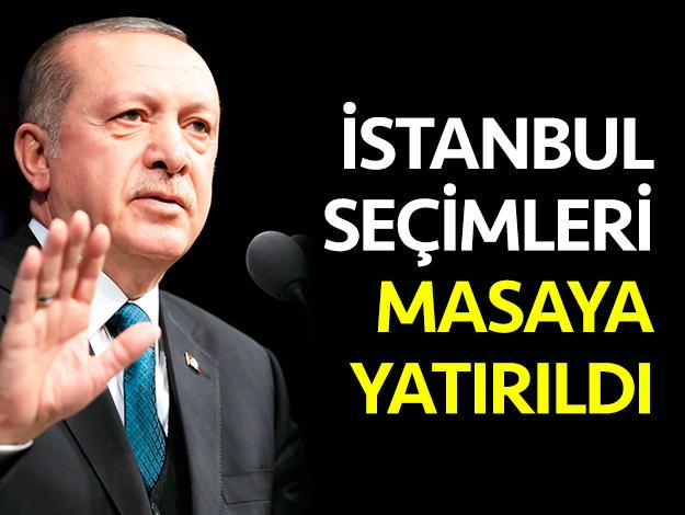 AK Parti'de İstanbul seçimi masaya yatırıldı