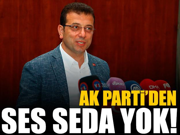 AK Parti'den ses seda yok