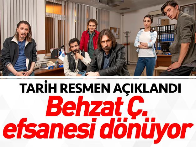 Behzat Ç.'nin yeni sezon ilk bölümü ne zaman yayınlanacak? Tarih açıklandı