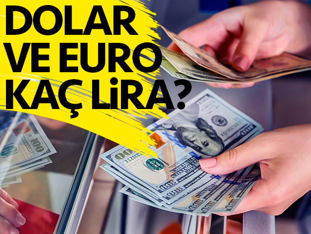 Dolar-Euro/TL kaç lira? 24 Temmuz alış ve satış fiyatları