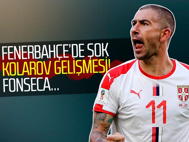 Fenerbahçe'de Aleksandar Kolarov şoku!