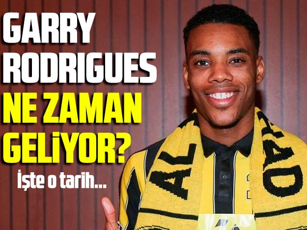 Garry Rodrigues ne zaman Fenerbahçe'ye imza atacak? Geliş günü belli oldu