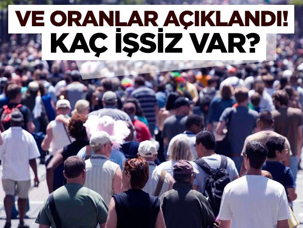 İşsizlik oranları açıklandı! Türkiye'de kaç işsiz var?