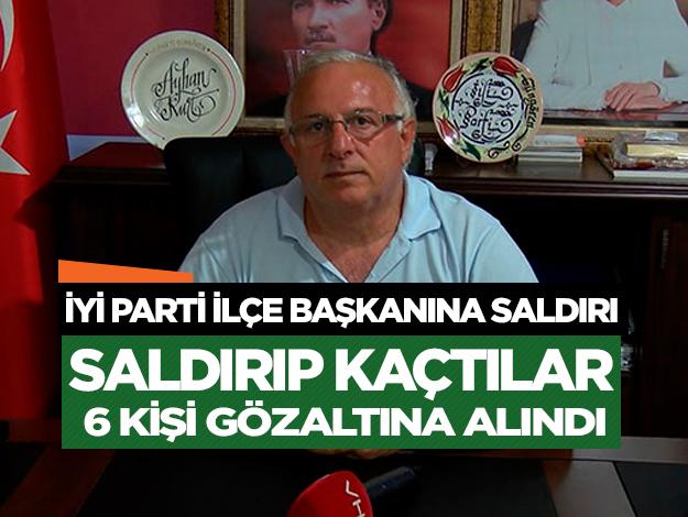 İYİ Parti Güngören İlçe Başkanı Ayhan Kurt'a saldırı