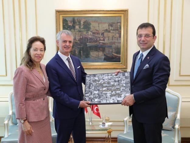Kanada Büyükelçisi'nden İmamoğlu'na tebrik ziyareti