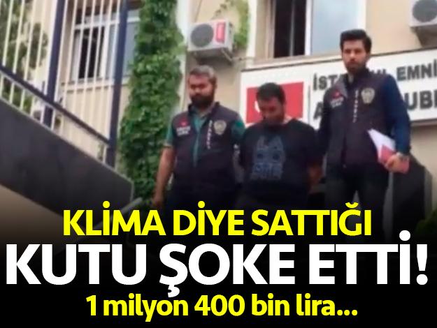 Klima diye tahta sattı! Tam 1 milyon 400 bin lira...