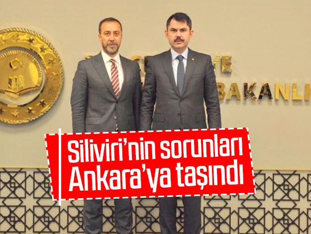Silivri'nin projeleri Ankara'ya taşındı