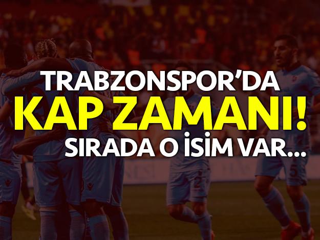 Trabzonspor'da KAP zamanı!