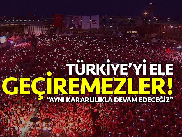 Türkiye'yi ele geçiremezler