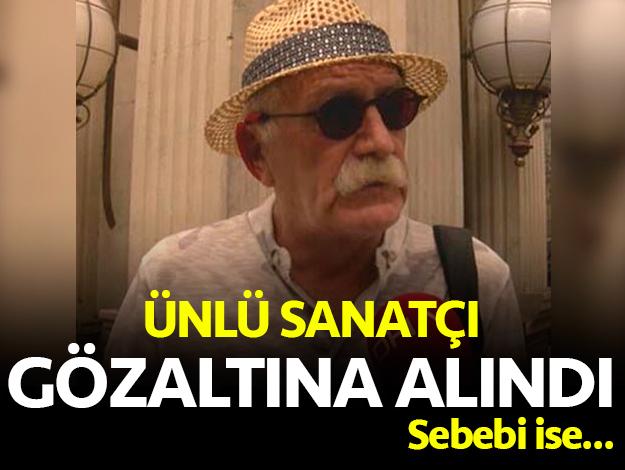 Ünlü tiyatrocu Orhan Aydın gözaltına alındı! Sebebi ise...