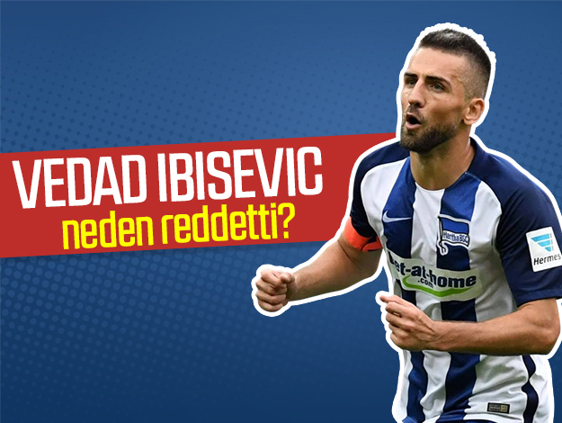 Vedad Ibisevic Trabzonspor'u reddetti! Sebebi ise...