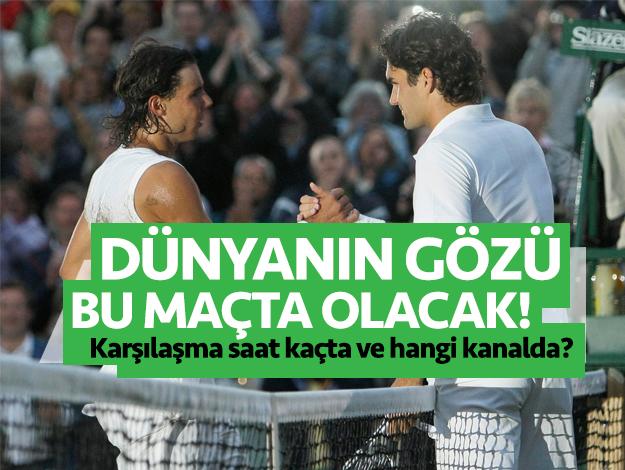 Wimbledon 2019 Yarı Final | Rafael Nadal Roger Federer maçı saat kaçta ve hangi kanalda