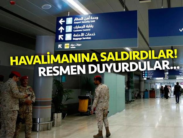 Yemen'den Suudi Arabistan'a havalimanı saldırısı