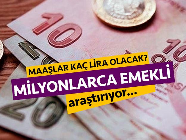 2020 Bağ-Kur ve SSK emekli maaşı kaç lira olacak?
