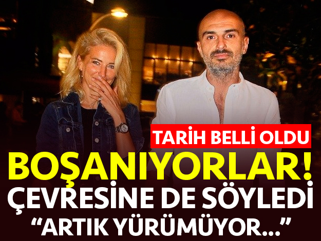 Burcu Esmersoy ve eşi Berk Suyabatmaz 2 Eylül'de boşanıyor