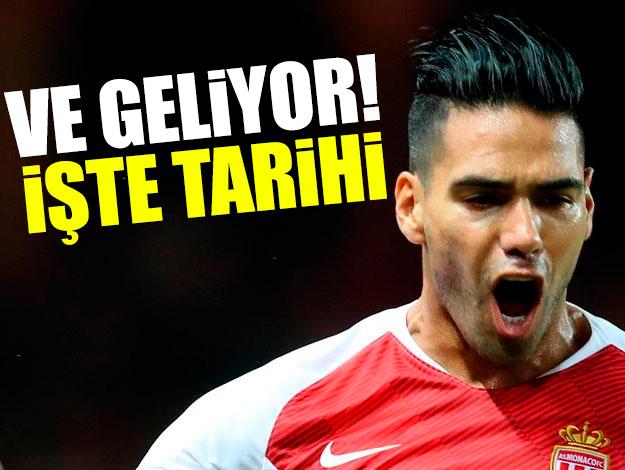 Falcao ne zaman Galatasaray'a gelecek? İşte o tarih...
