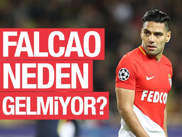 Falcao neden gelmiyor? 5 önemli başlık...