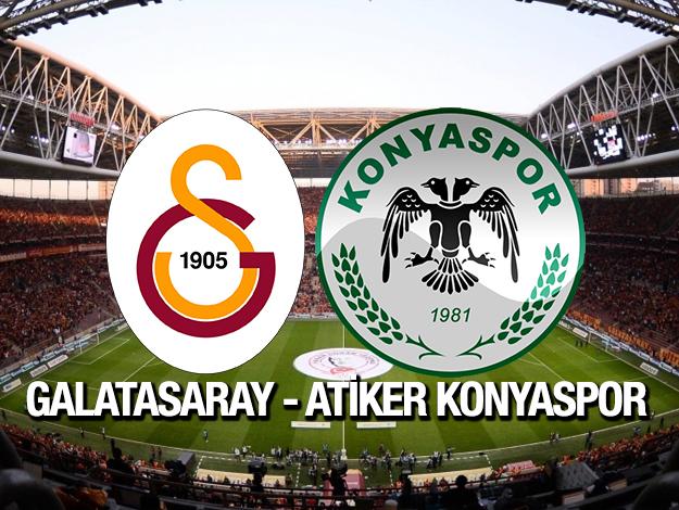 Galatasaray - Konyaspor beIN SPORTS 1 canlı izle