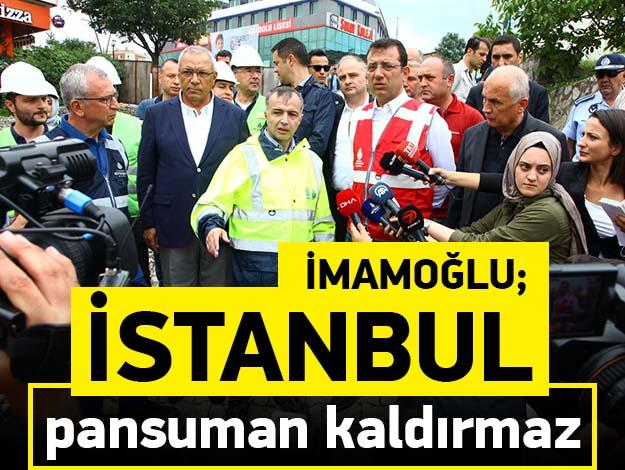 İstanbul pansuman kaldırmaz