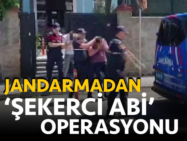 jandarmadan 'Şekerci Abi' operasyonu