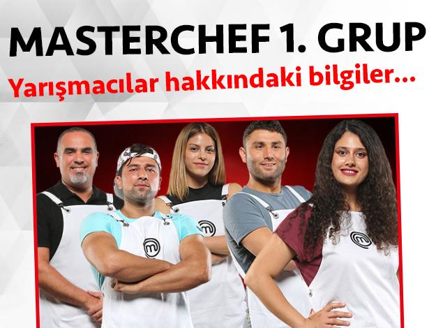 Masterchef 2. sezon 1. grup yarışmacıları/yarışmacı adayları kimdir