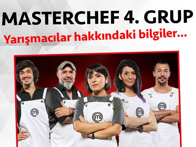 Masterchef 2. sezon 4. grup yarışmacıları/yarışmacı adayları kimdir