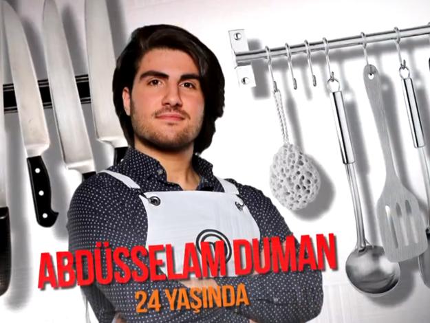 Masterchef Türkiye Abdüsselam Duman kimdir? Kaç yaşında, nereli ve mesleği