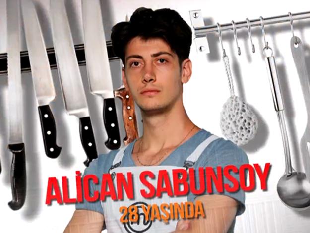 Masterchef Türkiye Alican Sabunsoy kimdir? Kaç yaşında, nereli ve mesleği