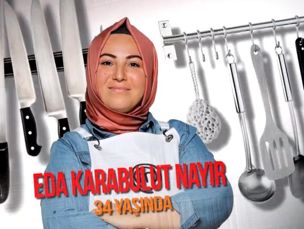 Masterchef Türkiye Eda Karabulut Nayır kimdir? Kaç yaşında, nereli ve mesleği
