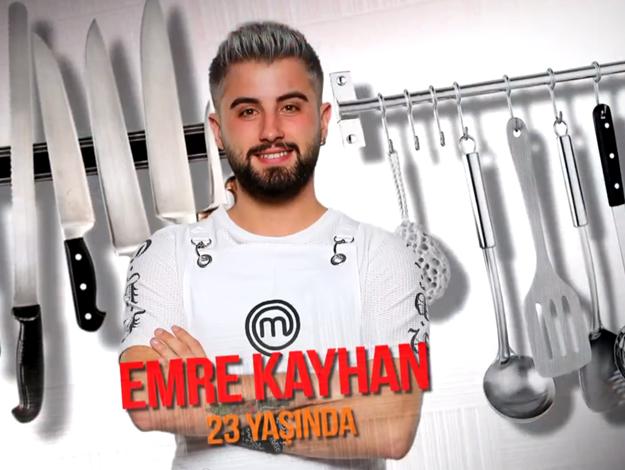 Masterchef Türkiye Emre Kayhan kimdir? Kaç yaşında, nereli ve mesleği