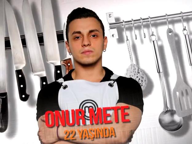 Masterchef Türkiye Onur Mete kimdir? Kaç yaşında, nereli ve mesleği