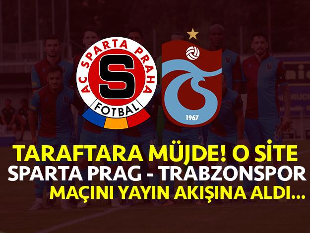 Sparta Prag - Trabzonspor Nesine canlı izle! Nesine.com canlı maç nasıl izlenir