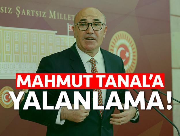 Sultanbeyli Belediyesi'nden Mahmut Tanal'a yalanlama
