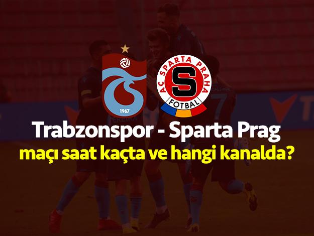 Trabzonspor - Sparta Prag maçı saat kaçta ve hangi kanalda? Şifreli mi şifresiz mi?
