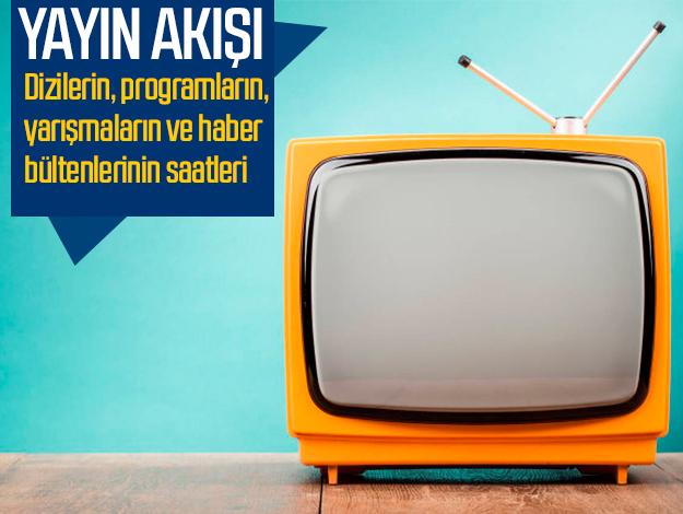 14 Eylül 2019 Cumartesi Atv, Kanal D, FOX Tv, TV8, TRT1, Kanal 7, Show Tv, Star Tv yayın akışı