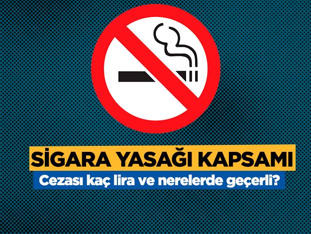 2019 sigara içmenin cezası kaç lira? Nerelerde geçerli? Arabada sigara içme cezası