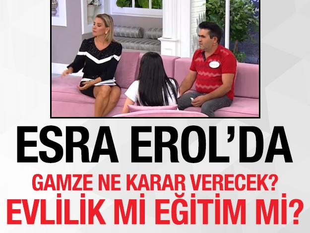 Esra Erol'da Gamze Zabun Ahmet Yılmaz ile evlenmek için sınava girmedi!