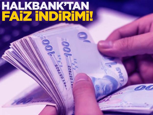 Halkbank'ta kredi faiz oranları yüzde kaç? Son dakika açıklaması