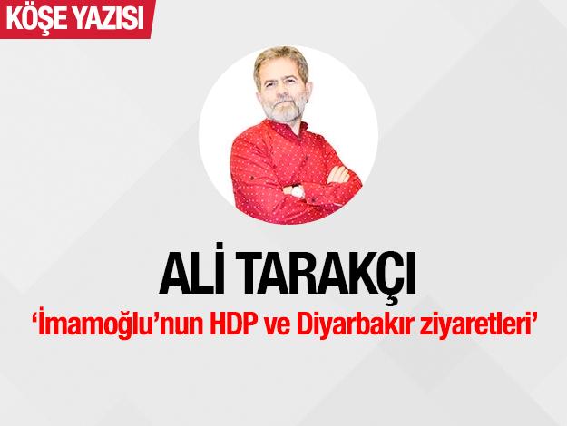 İmamoğlu'nun Diyarbakır ziyareti, HDP'nin şeytanlaştırılmasına engel olmuş, millet iradesi konusundadayanışmayı büyütmüştür...