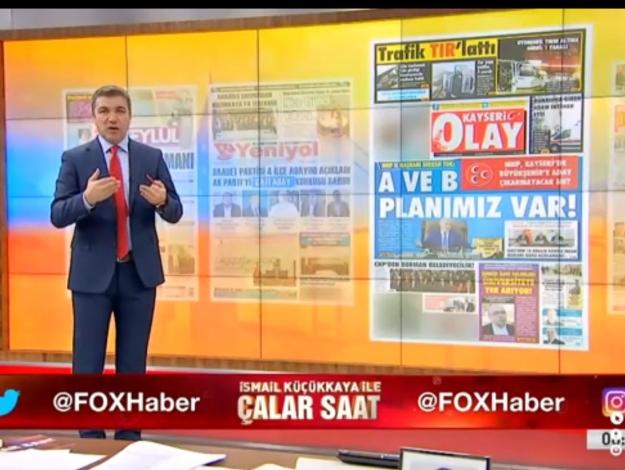 İsmail Küçükkaya ile Çalar Saat 16 Eylül Pazartesi FOX  TV izle