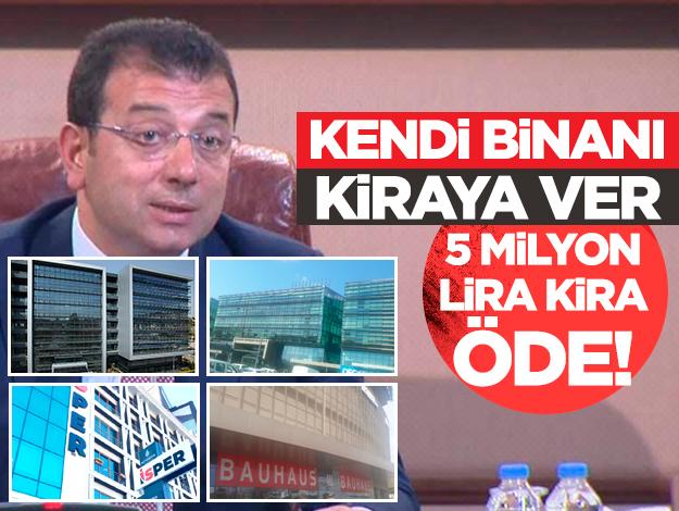 Kendi binanı kiraya ver 5 milyon lira kira öde