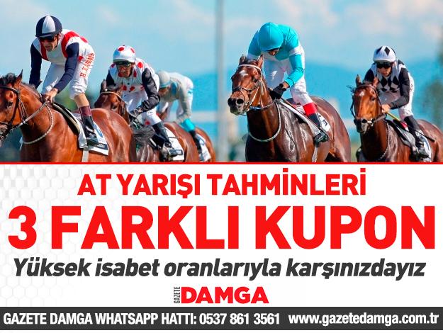 15 Ekim 2019 Salı Adana ve Diyarbakır At Yarışı Tahminleri, Programı ve Sonuçları