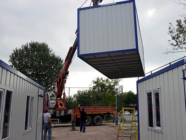 16 konteyner hizmete başlıyor
