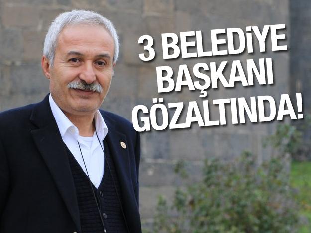 Diyarbakır Büyükşehir Belediye Başkanı Selçuk Mızraklı gözaltına alındı