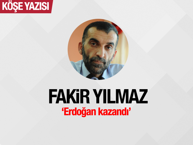 Erdoğan kazanmıştır...