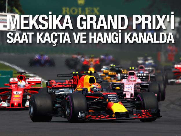 Formula 1 (F1) Meksika Grand Prix'i ne zaman hangi kanalda ve saat kaçta